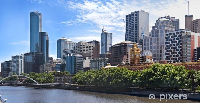 Papier peint vinyle Melbourne - Victoria - Australie - Thèmes