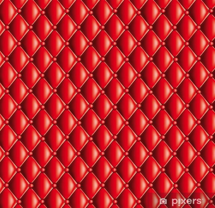 Pixerstick Sticker Motif capitonné rouge - Succes en Prestatie