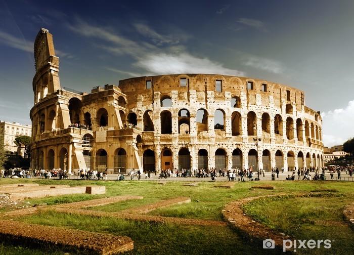 Naklejka Pixerstick Koloseum w Rzymie, Włochy - Rzym