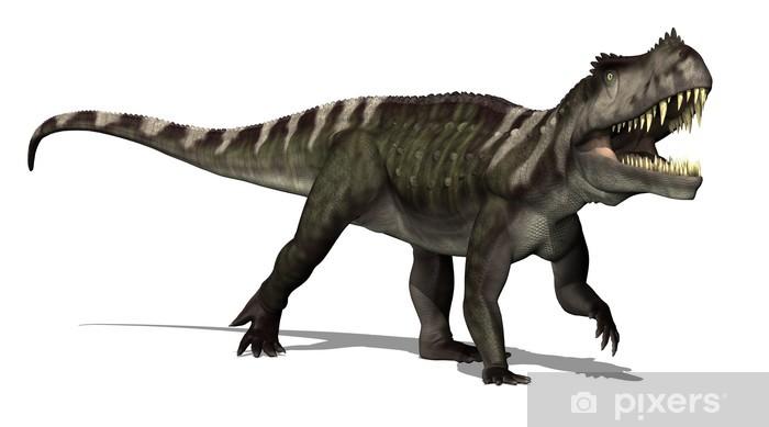Sticker Dinosaure 3d Render Prestosuchus Pixers Nous Vivons Pour Changer