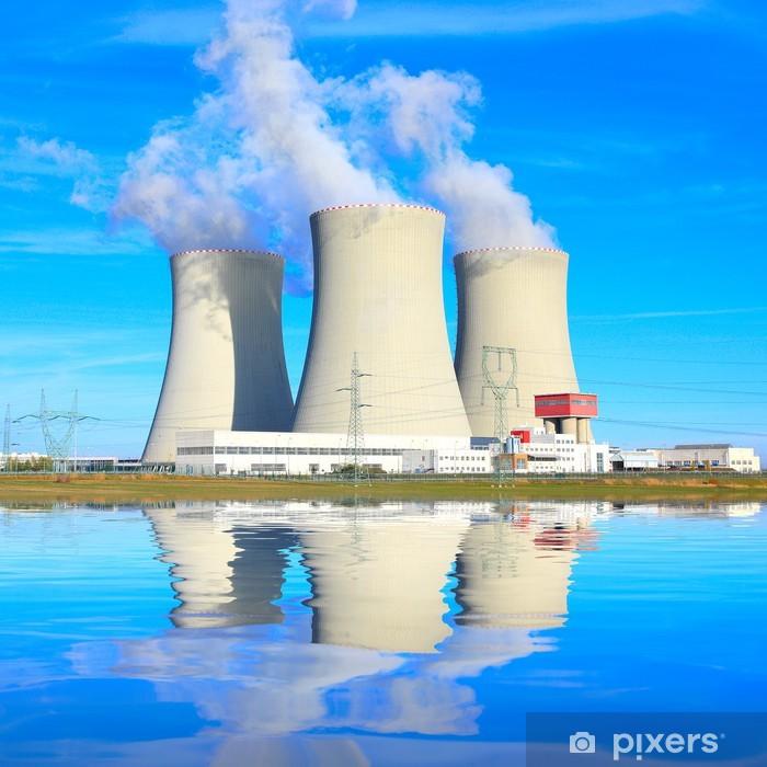 Papier peint vinyle Centrale nucléaire - Bâtiments commerciaux et industriels