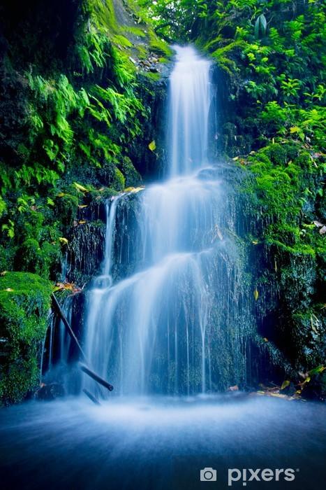 Vinilo para Nevera Cascada Beautiful Lush -