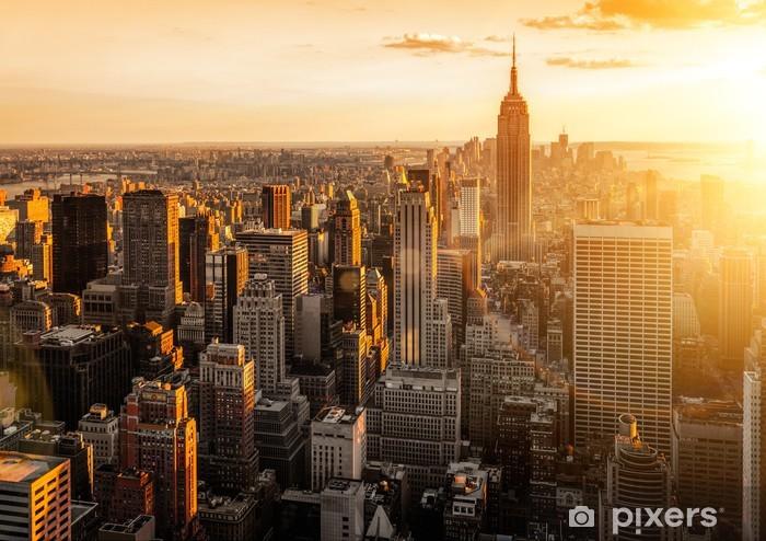 New York Pixerstick Sticker -