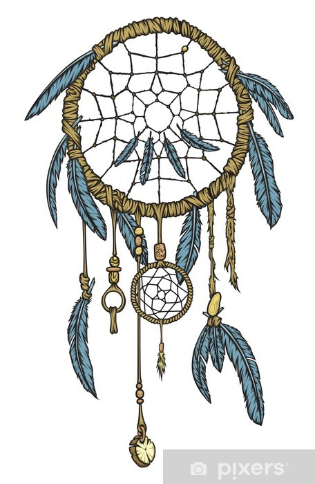 Papier peint vinyle Dream catcher -