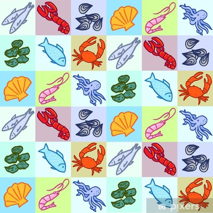 Pixerstick Aufkleber Fischhändler 08 - Gerichte