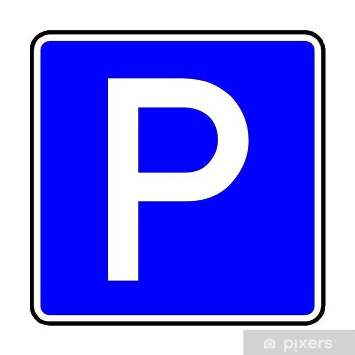 d4959a2c90bc Adesivo Segnale stradale - 314 Parcheggio • Pixers® - Viviamo per il ...