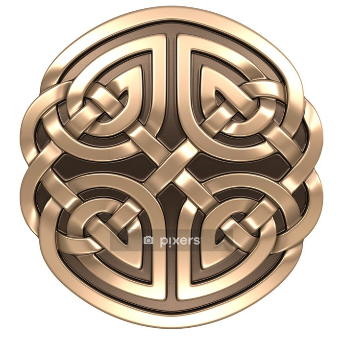 Celtic ornament Wall Decal - Europe