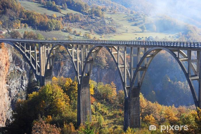 Fototapeta winylowa Djurdjevic Tara Bridge - Europa
