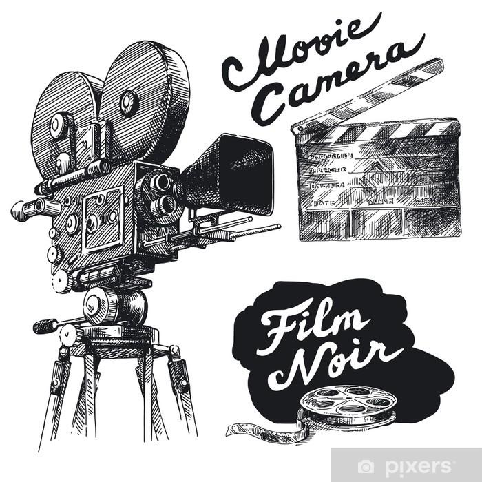 Papier peint vinyle Caméra - Thèmes