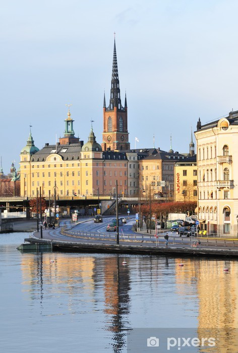 Sticker Pixerstick Stockholm - Europe