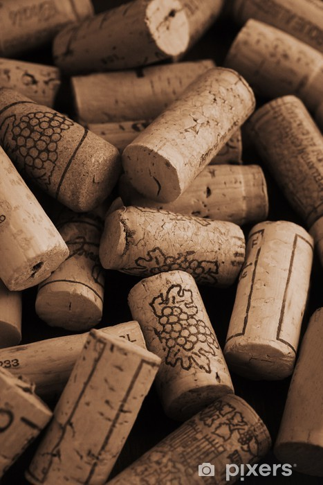 Sticker Pixerstick Wine corks -