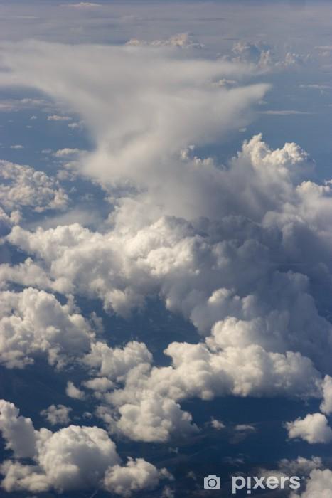 Sticker Pixerstick Tour Looking Cloud, tiré d'un avion - Ciel