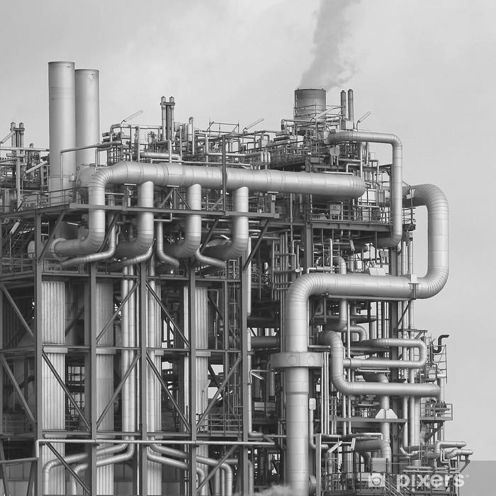 Poster Raffinerie OMV - Bâtiments commerciaux et industriels