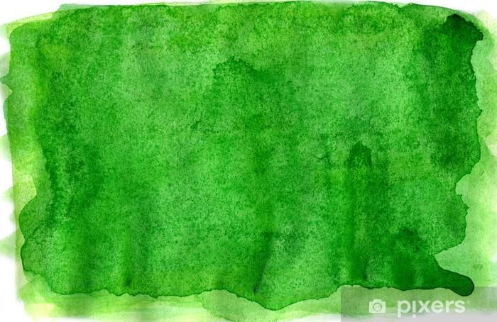 Papier Peint Aquarelle Abstraite Vert Pixers Nous Vivons Pour