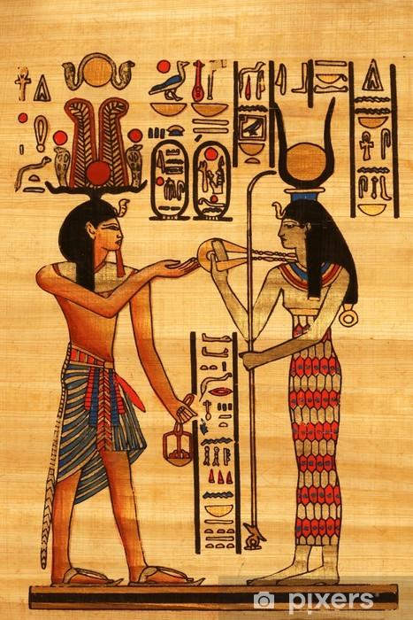 Vinilo Pixerstick Papiro Egipcio • Pixers® - Vivimos para ...