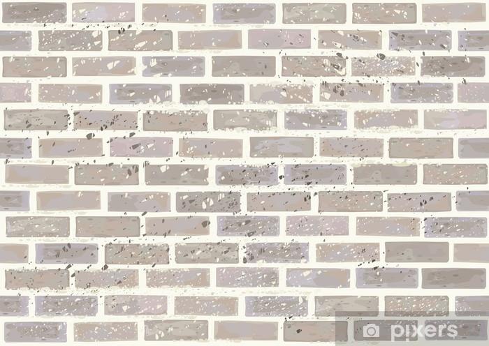 Papier Peint Mur De Briques Vector Seamless L Effet Sale De Niveau Separe