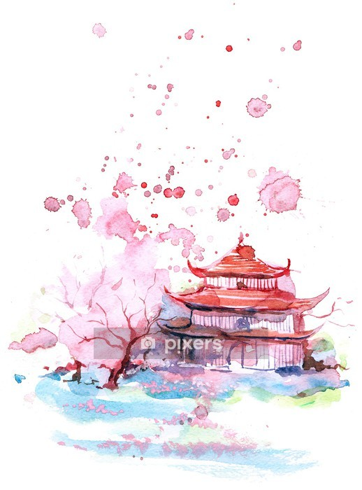 Asia Wall Decal - Wall decals