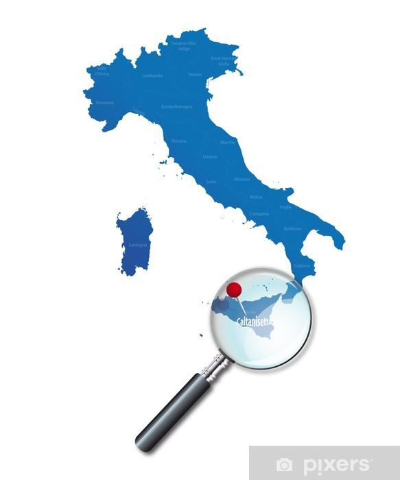 Vinylová fototapeta Caltanisetta - Sicile - Itálie - Italia - Vinylová fototapeta