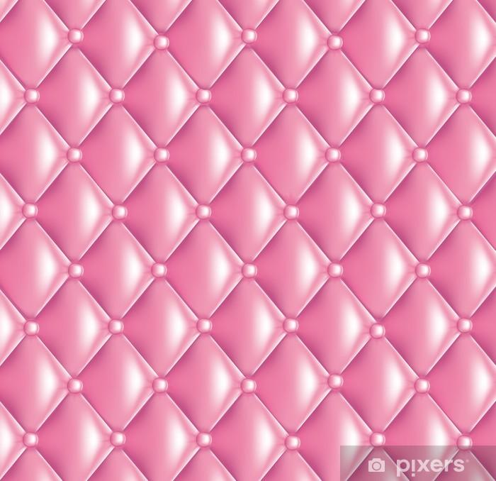 Pixerstick Sticker Fond capitonné steeg girly - Texturen