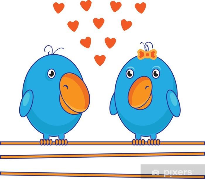 Bird2 (0) .jpg Vinyyli valokuvatapetti - Onnellisuus
