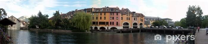 Sticker Pixerstick Canal Cityscape - Vente