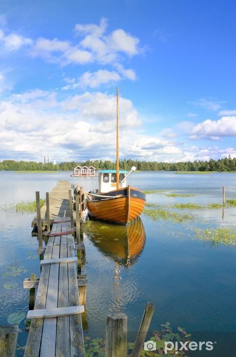 Fototapeta winylowa Szwedzki jezioro - Europa