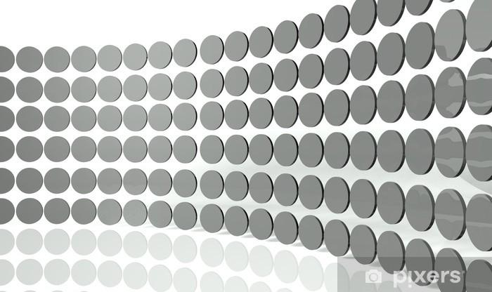 Fototapete 3d Abstract Design Kreisen
