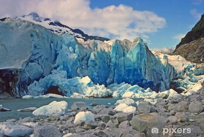 Fototapeta winylowa Blue Ice in the Sun - Cuda natury