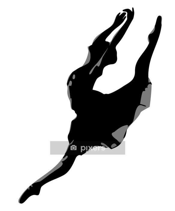 Vinilo para Pared Bailarina - Deportes individuales