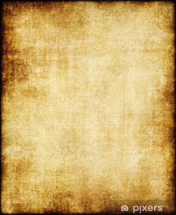 old yellow brown vintage parchment paper texture sticker pixers