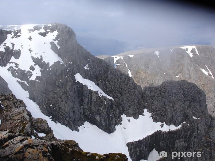 Fotomural Estándar Vista del pico a Ben Nieves - Deportes de exterior