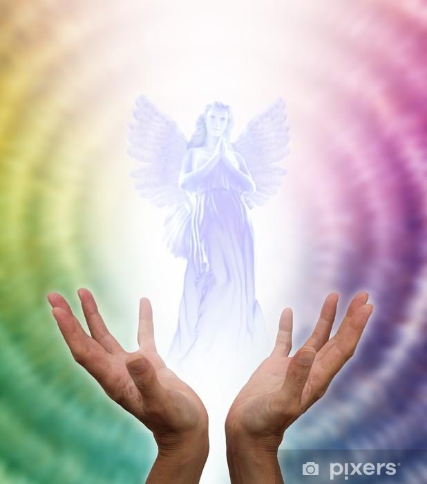 Papier peint vinyle Ange gardien - Religion