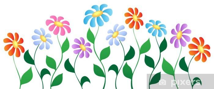 Vinyl-Fototapete Blume theme image 3 - Blumen