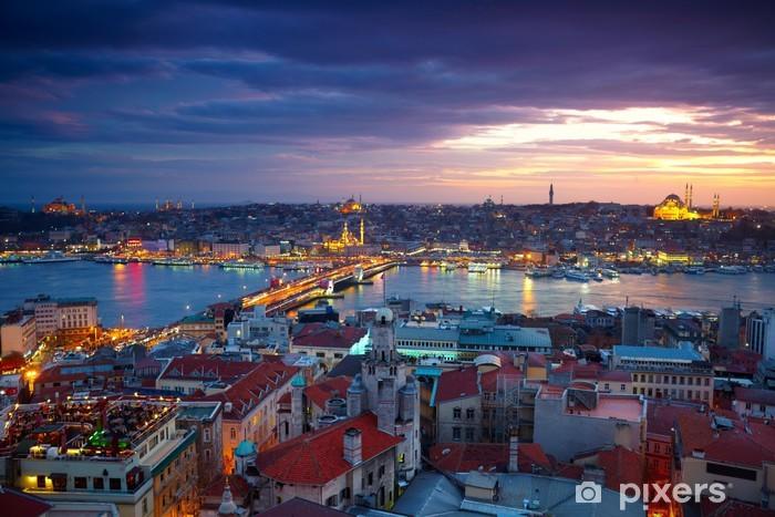 Fototapeta winylowa Istanbul Sunset Panorama - Tematy
