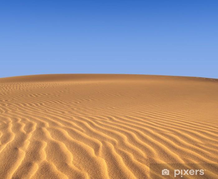 Vinyl-Fototapete Sandwüste - Wüsten