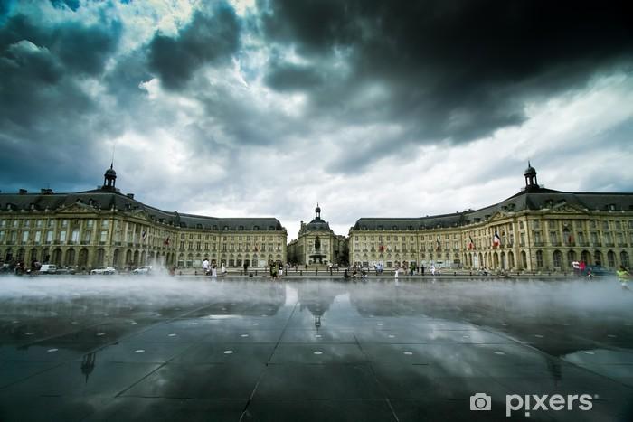 Papier peint vinyle Place de la Bourse à Bordeaux - Vacances