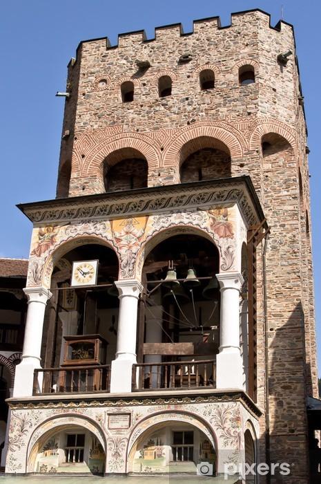 Vinylová fototapeta Campanile kláštera Saint Ivan of Rila, Bulharsko - Vinylová fototapeta