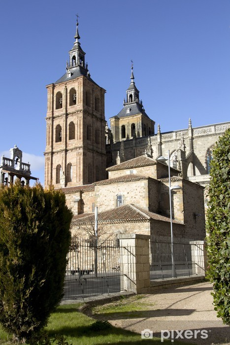 Fototapeta winylowa Gaudi pałac (Astorga, Hiszpania) - Zabytki