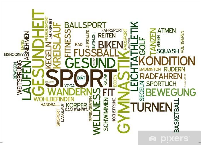Vindu- og glassklistremerke Sport - Tegn og Symboler