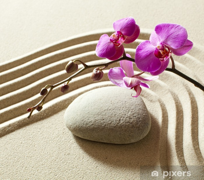 Pixerstick Sticker Wellness sensualiteit zen - Texturen