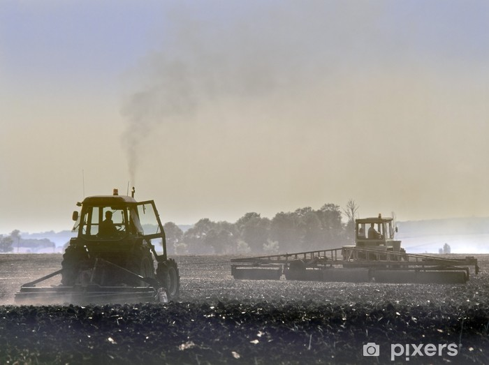 Papier peint vinyle Tracteur - Agriculture