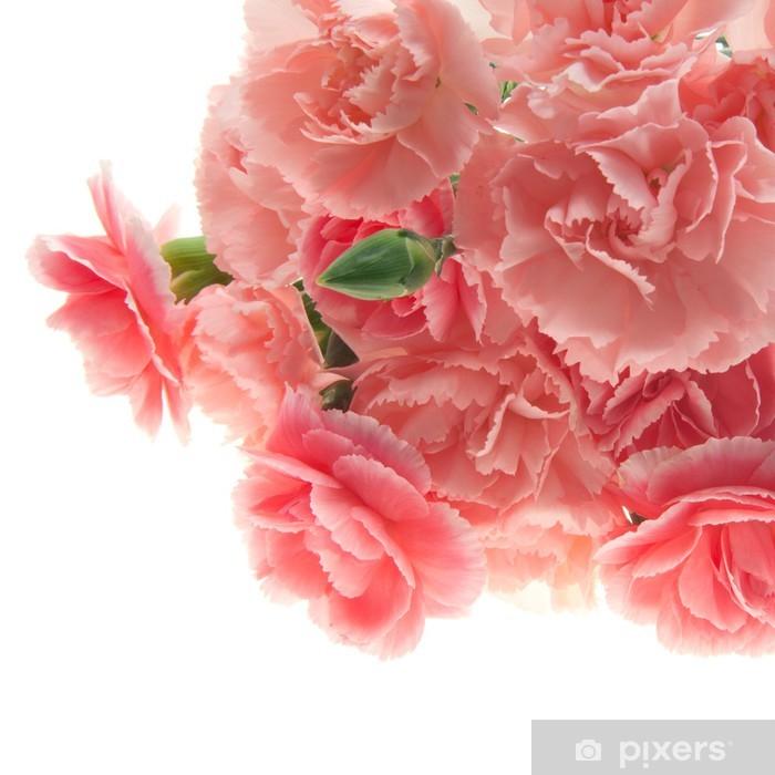 Plakat Różowe goździki - Święta międzynarodowe