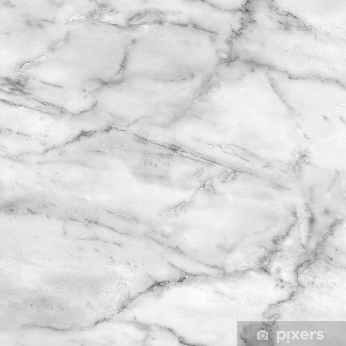 White marble texture (high.res.) Vinyl Wall Mural -