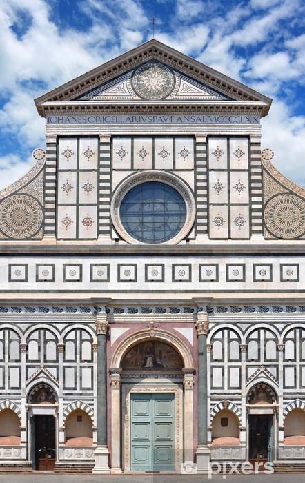 Carta Da Parati Facciata Della Basilica Di Santa Maria Novella A