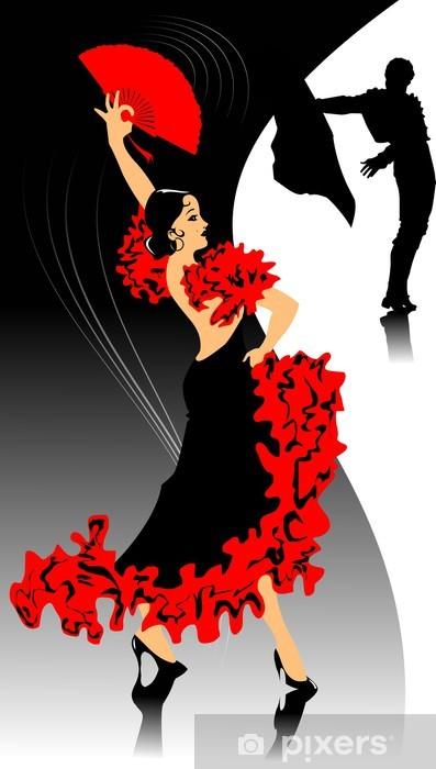 Fototapeta winylowa Tło flamenco - Tematy