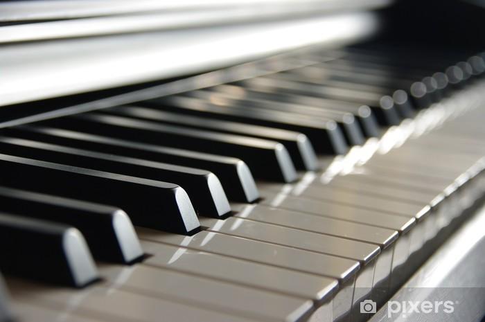 Papier peint vinyle Fortepian - Piano à queue