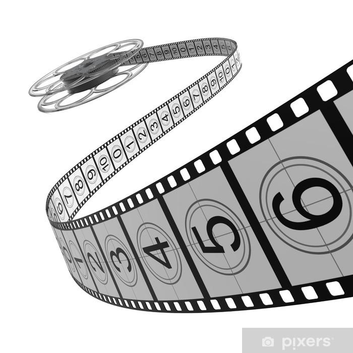Papier peint vinyle Bobine de film Filmstrip - - Thèmes