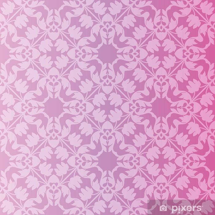 Papier peint vinyle Transparente et élégant motif baroque avec des fleurs - Styles