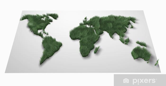 Vinylová fototapeta Zelený svět - Vinylová fototapeta