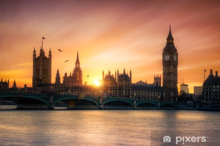 Pixerstick Sticker Big Ben Londres Angleterre - Thema's